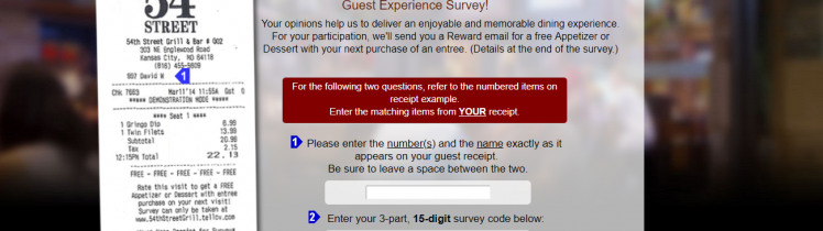 54th Street Guest Experience Survey