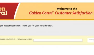 Golden Corral Survey Logo