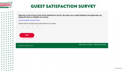 Krispy Kreme Survey Logo