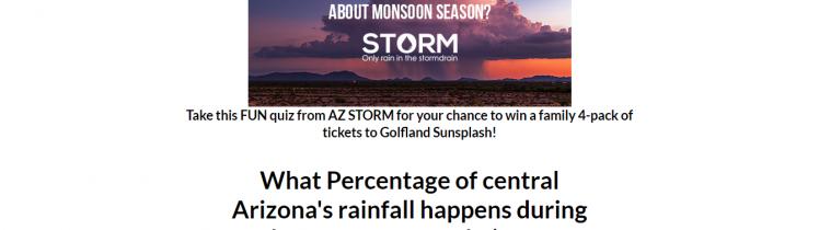 az storm quiz logo