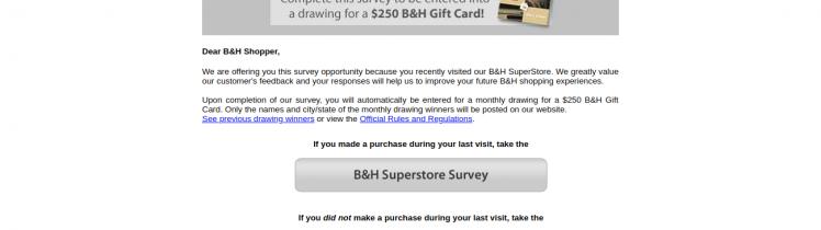 b&h survey logo