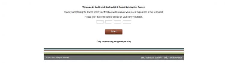 bristol seafood grill survey logo