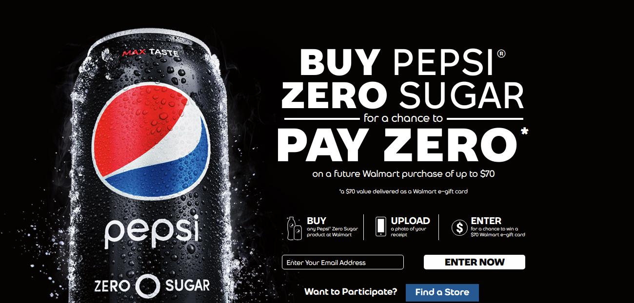 buy pepsi zero sugar