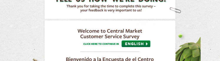 central market survey logo