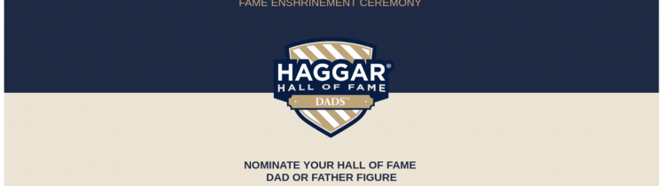haggar hall of fame survey logo