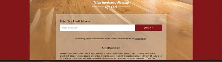 talon floors survey logo
