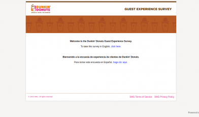 telldunkin survey logo