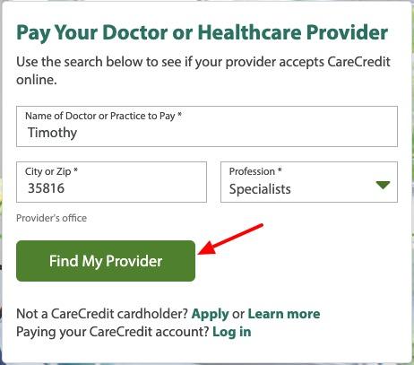 care credit card