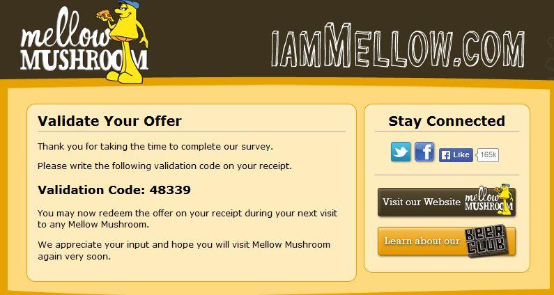 mellow mushroom coupon