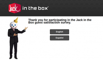 Jack in The Box Survey Logo