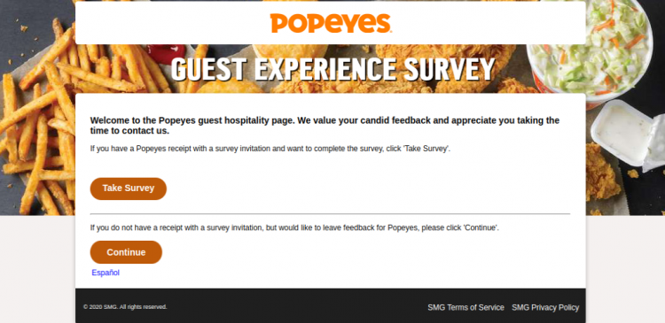Popeyes Survey