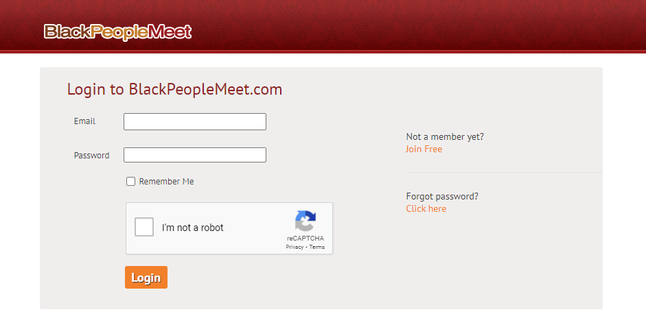 black people meet login