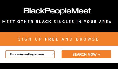 BlackPeopleMeet Logo
