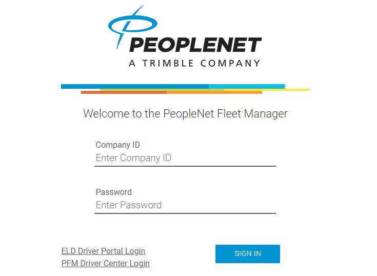 peoplenet fleet manager login