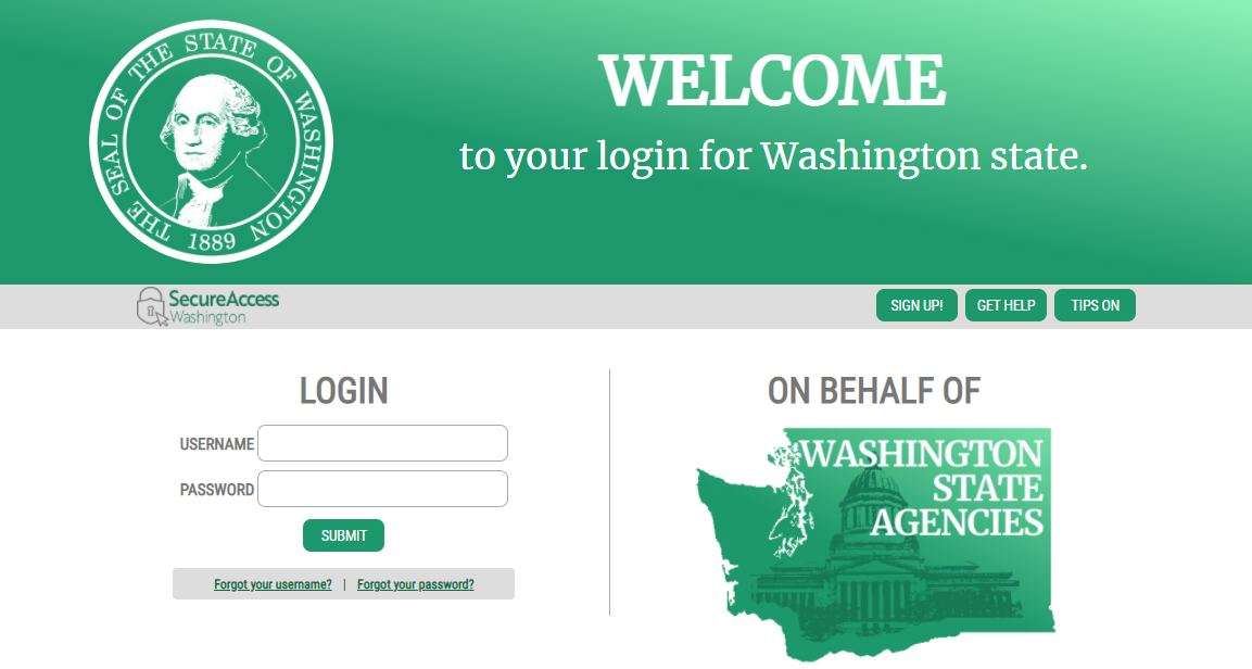 Secure Access Washington Login