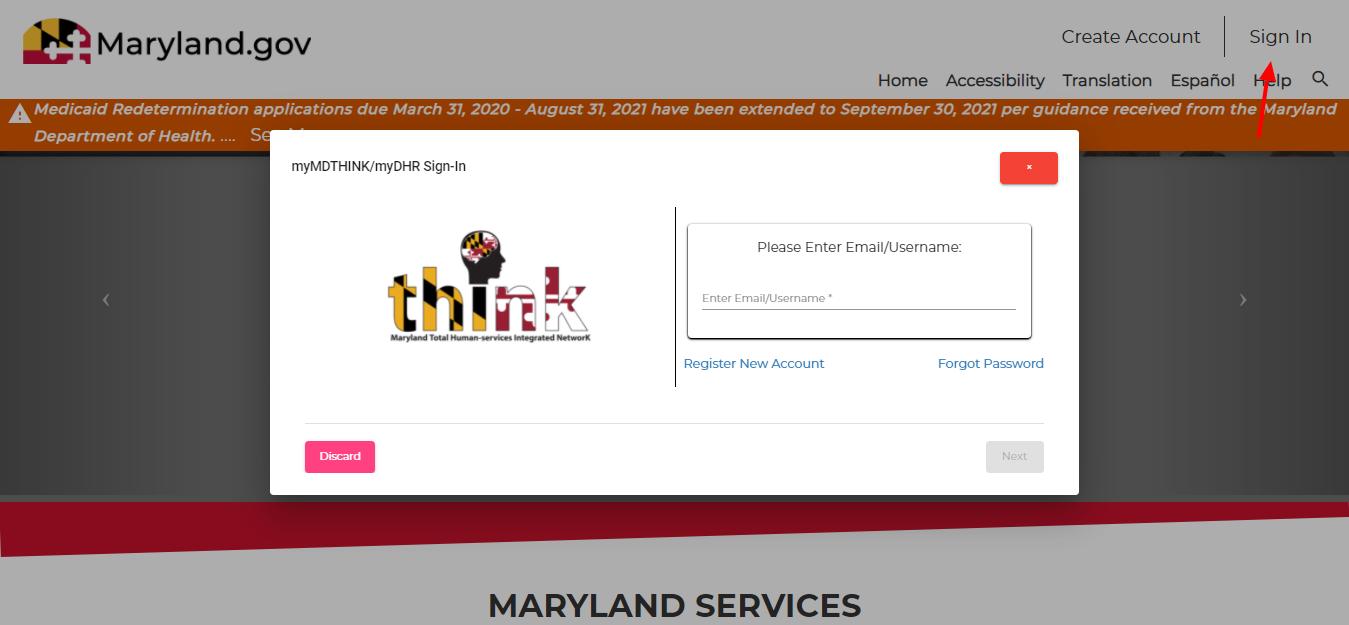 mymdthink programs login